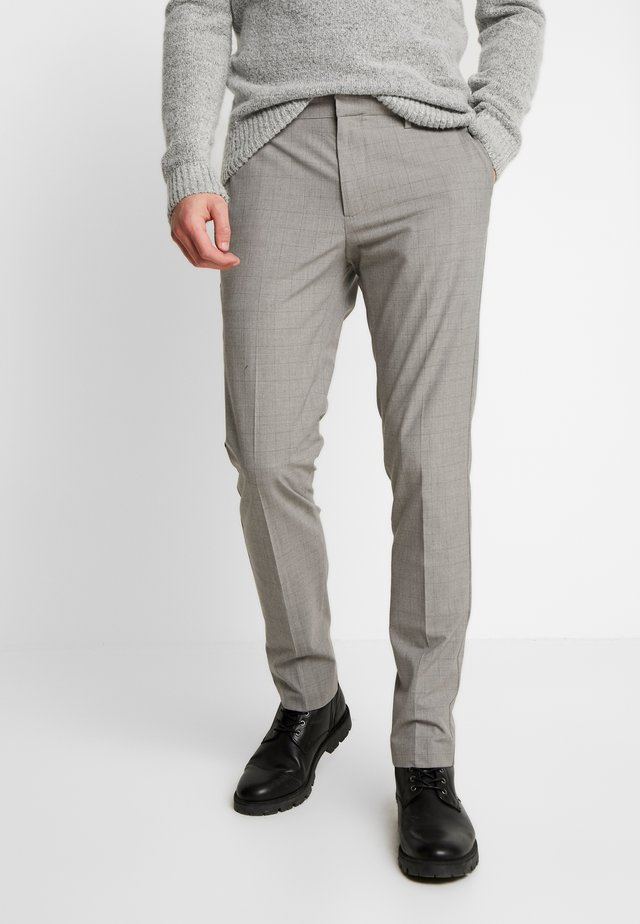 SMART 360 FLEX TROUSER SLIM - Chino kalhoty - mastin river rock heather
