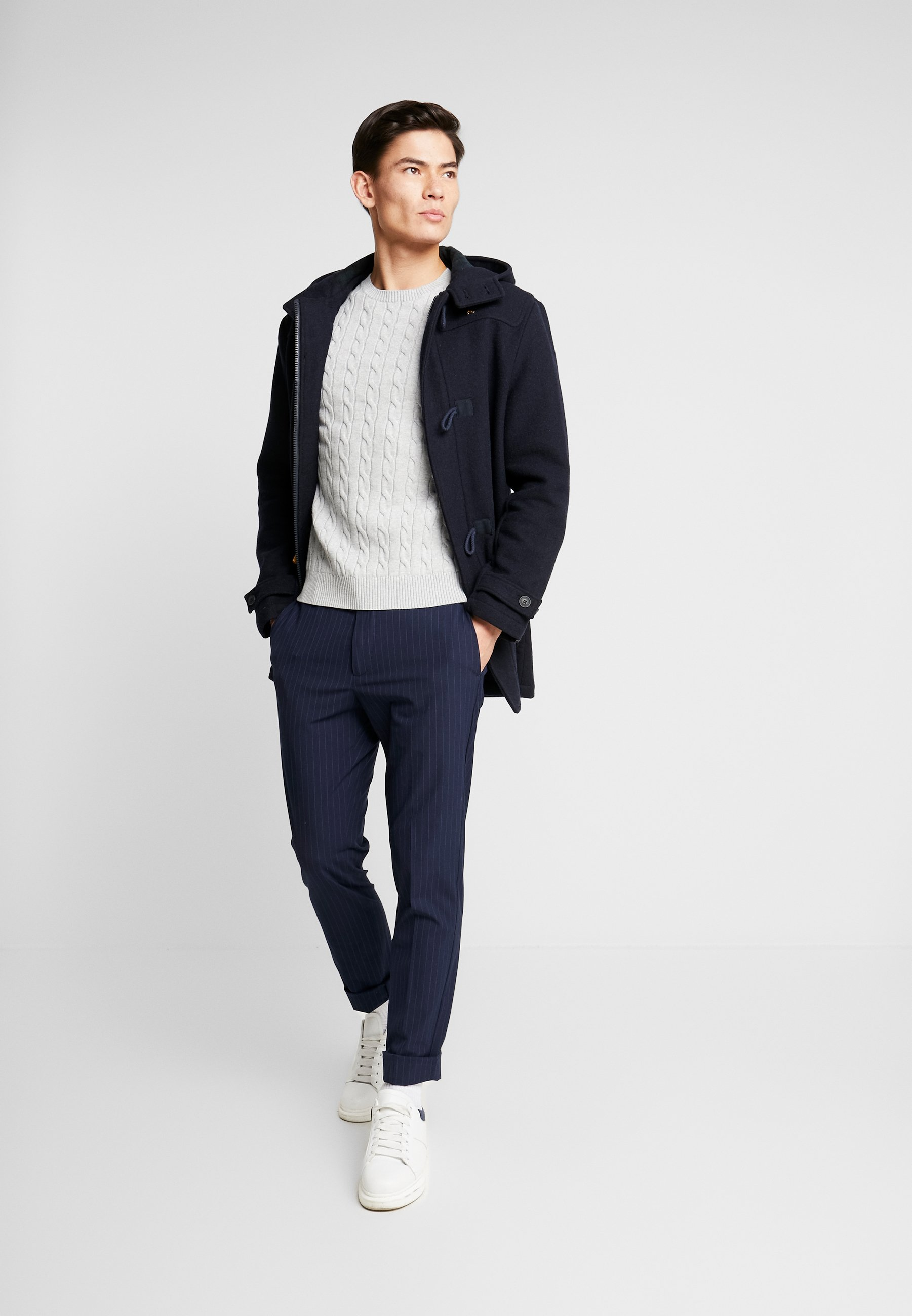 DOCKERS SMART 360 FLEX TROUSER SLIM - Chinosy - curry pembroke