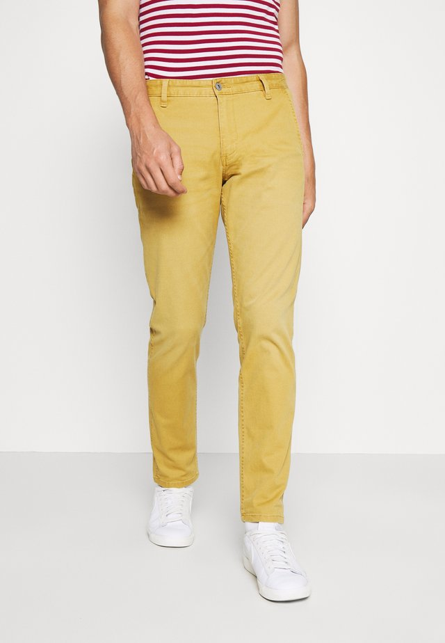 SMART SUPREME FLEX ALPHA ORIGINAL TAPERED - Chinos - sunset olive yellow