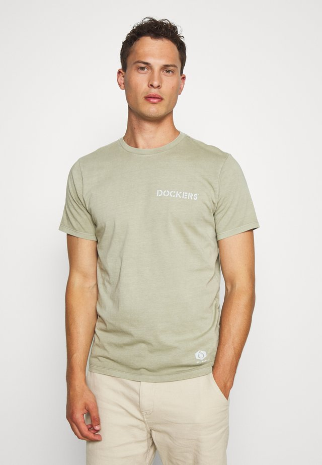 SUSTAINABLE TEE - Print T-shirt - london fog