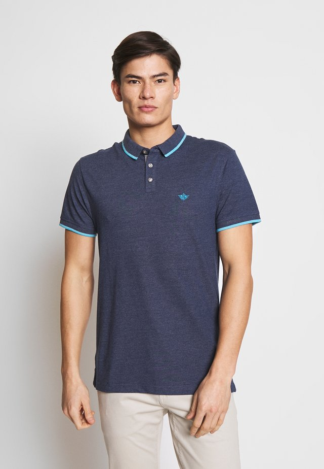 360 VERSATILE POLO - Poloshirt - estate blue