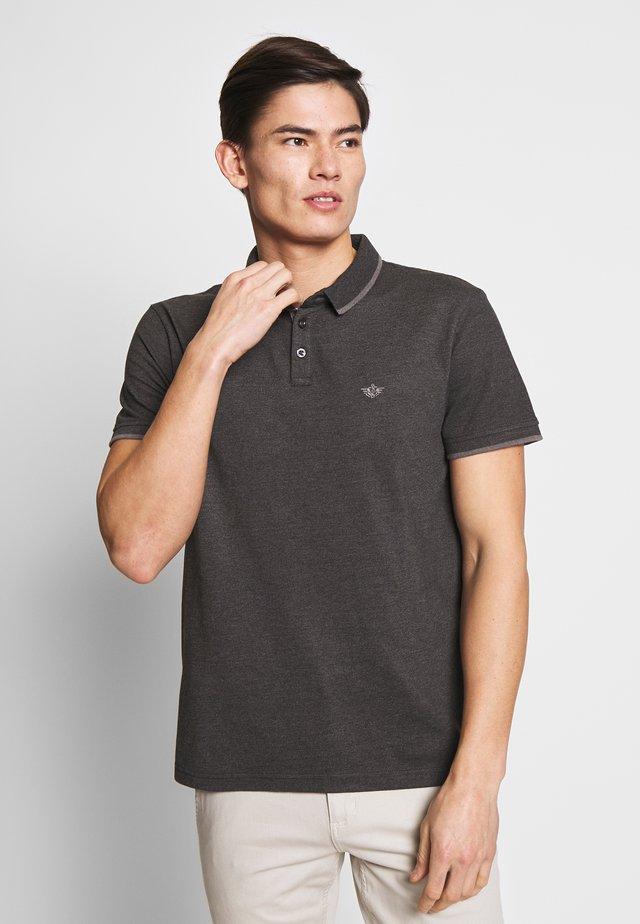 360 VERSATILE POLO - Polo shirt - black