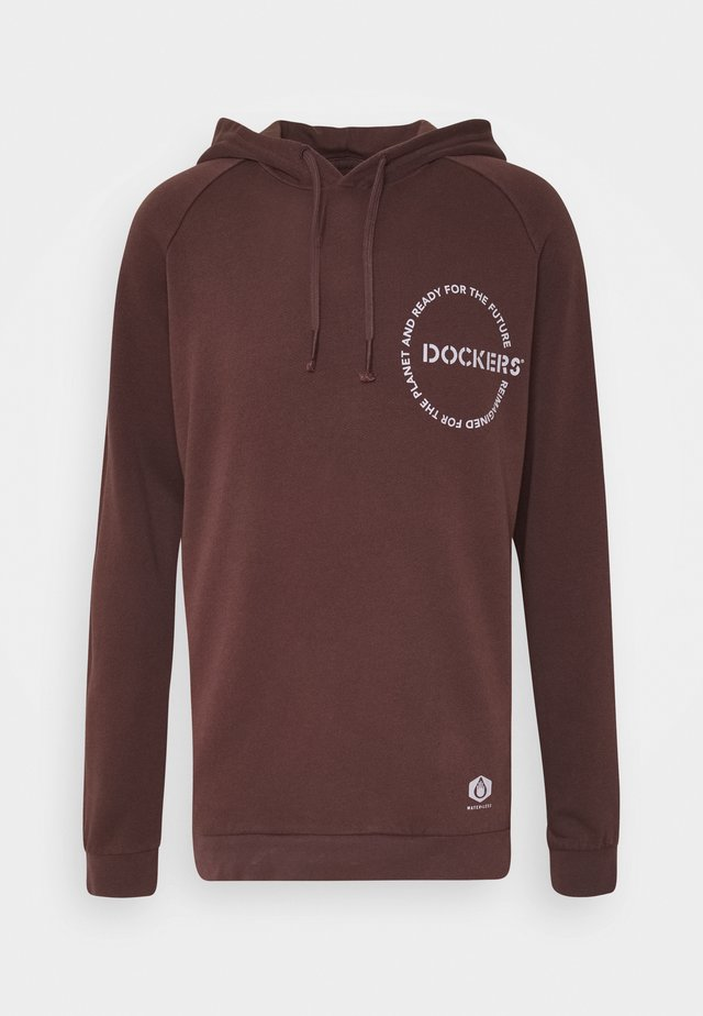 SUSTAINABLE HOODIE - Hoodie - raisin