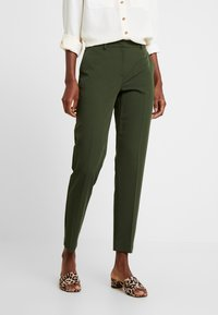 Dorothy Perkins Tall - ANKLE GRAZER - Trousers - green - 0