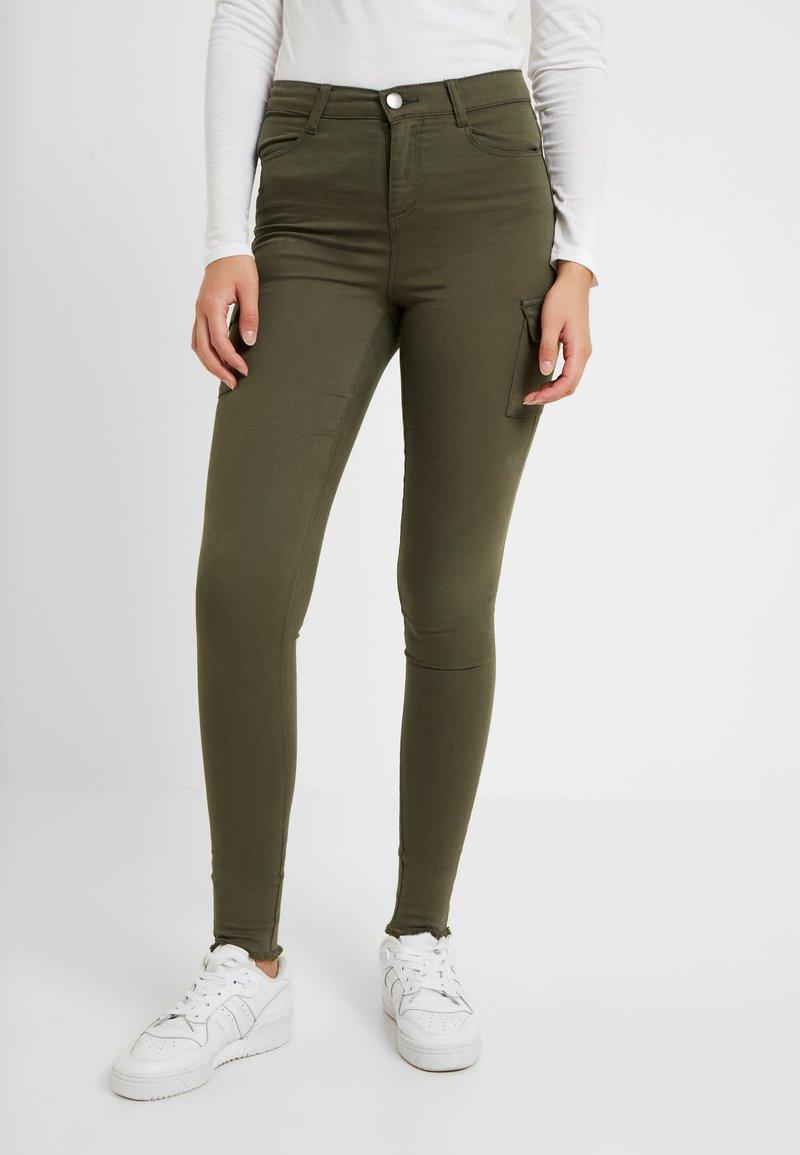 Dorothy Perkins Tall - CARGO FRNKI - Trousers - khaki
