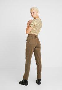 Dorothy Perkins Tall - UTILITY TROUSER - Trousers - khaki - 0
