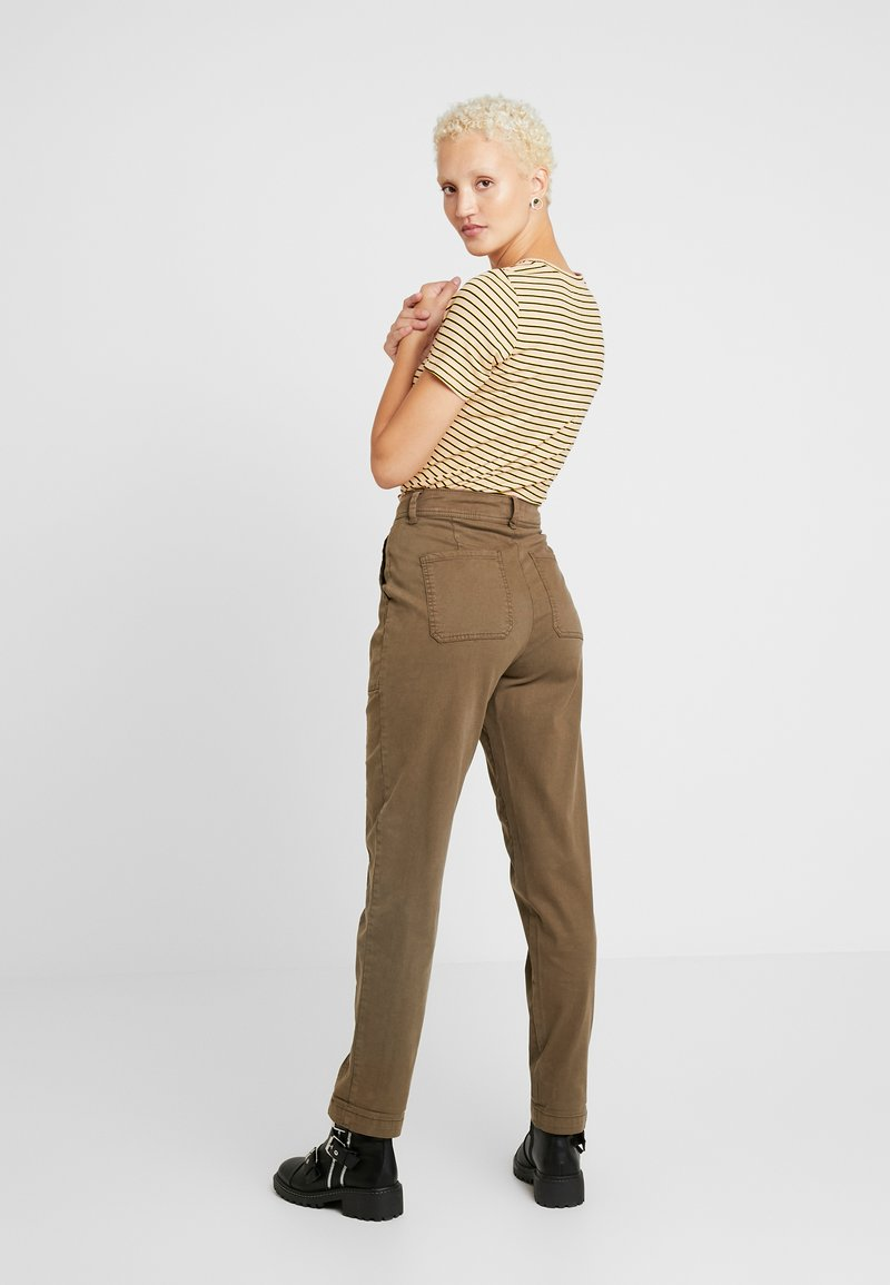 Dorothy Perkins Tall - UTILITY TROUSER - Trousers - khaki