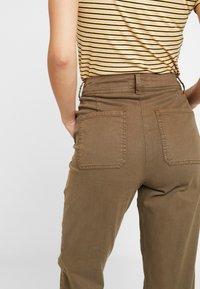 Dorothy Perkins Tall - UTILITY TROUSER - Trousers - khaki - 5