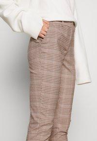 Dorothy Perkins Tall - GRID CHECK ANKLE GRAZER TROUSER - Pantalon classique - multi - 3