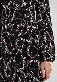 Dorothy Perkins Tall - PRINTED MIDI - Korte jurk - black - 7