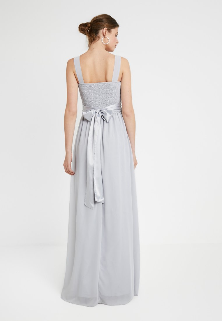 De Natalie Perkins Grey Dorothy Cocktail Maxi Tall DressRobe Dove doxBCerW