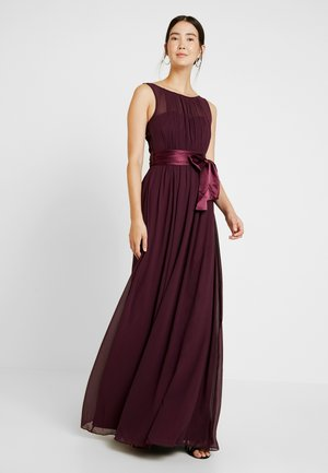 NATALIE MAXI DRESS - Iltapuku - oxblood