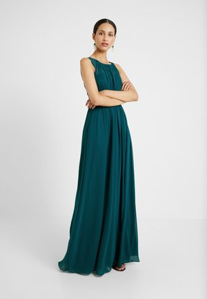 NATALIE MAXI DRESS - Galajurk - forest