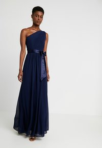 Dorothy Perkins Tall - SADIE SHOULDER DRESS - Galajurk - navy - 2
