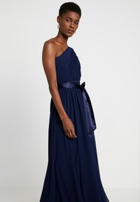 Dorothy Perkins Tall - SADIE SHOULDER DRESS - Galajurk - navy - 4