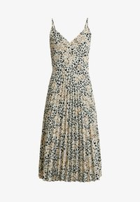 Dorothy Perkins Tall - CAMO ANIMAL PLEATED STRAPPY MIDI - Vardagsklänning - khaki - 5