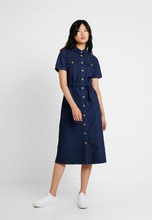 DRESS - Denim dress - blue denim