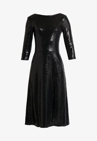 Dorothy Perkins Tall - BLACK ON BLACK SEQUIN MIDI - Cocktail dress / Party dress - black - 5