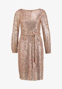 Dorothy Perkins Tall - TIE WAIST DRESS - Cocktailkjole - pink - 4