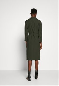 Dorothy Perkins Tall - LONG SLEEVE TRENCH DRESS - Day dress - khaki - 2
