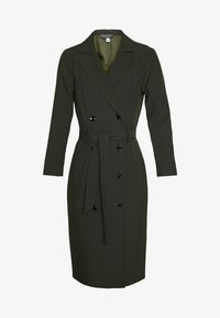 Dorothy Perkins Tall - LONG SLEEVE TRENCH DRESS - Day dress - khaki - 3