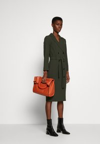 Dorothy Perkins Tall - LONG SLEEVE TRENCH DRESS - Day dress - khaki - 1