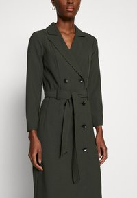 Dorothy Perkins Tall - LONG SLEEVE TRENCH DRESS - Day dress - khaki - 4