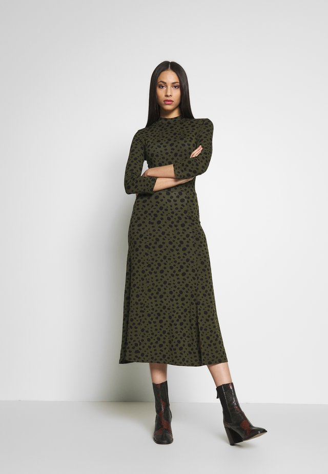 MIDI DRESS - Day dress - khaki