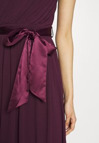Dorothy Perkins Tall - SADIE SHOULDER MAXI DRESS - Iltapuku - mulberry - 3