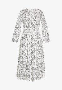 Dorothy Perkins Tall - SPOT PRINT SMOCK DRESS - Korte jurk - white - 3