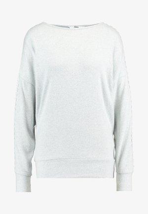 SHOULDER BRUSHED - Pitkähihainen paita - charcoal