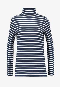 Dorothy Perkins Tall - HIGH NECK STRIPE - Långärmad tröja - navy - 3