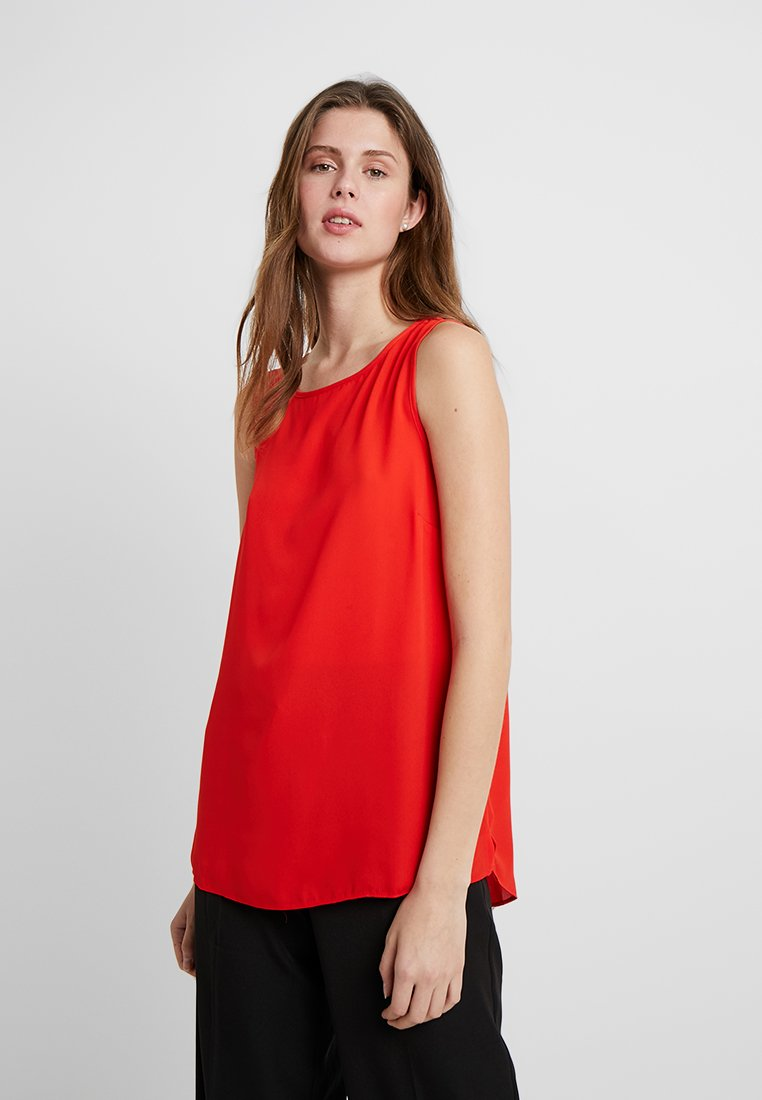 Dorothy Perkins Tall - BUILT UP CAMI - Blouse - red