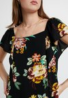 Dorothy Perkins Tall - FLORAL - Bluse - black