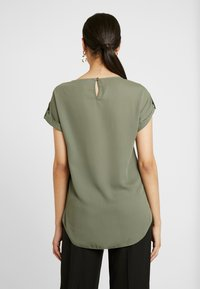 Dorothy Perkins Tall - PLAIN SOFT TEE - Blouse - khaki - 2