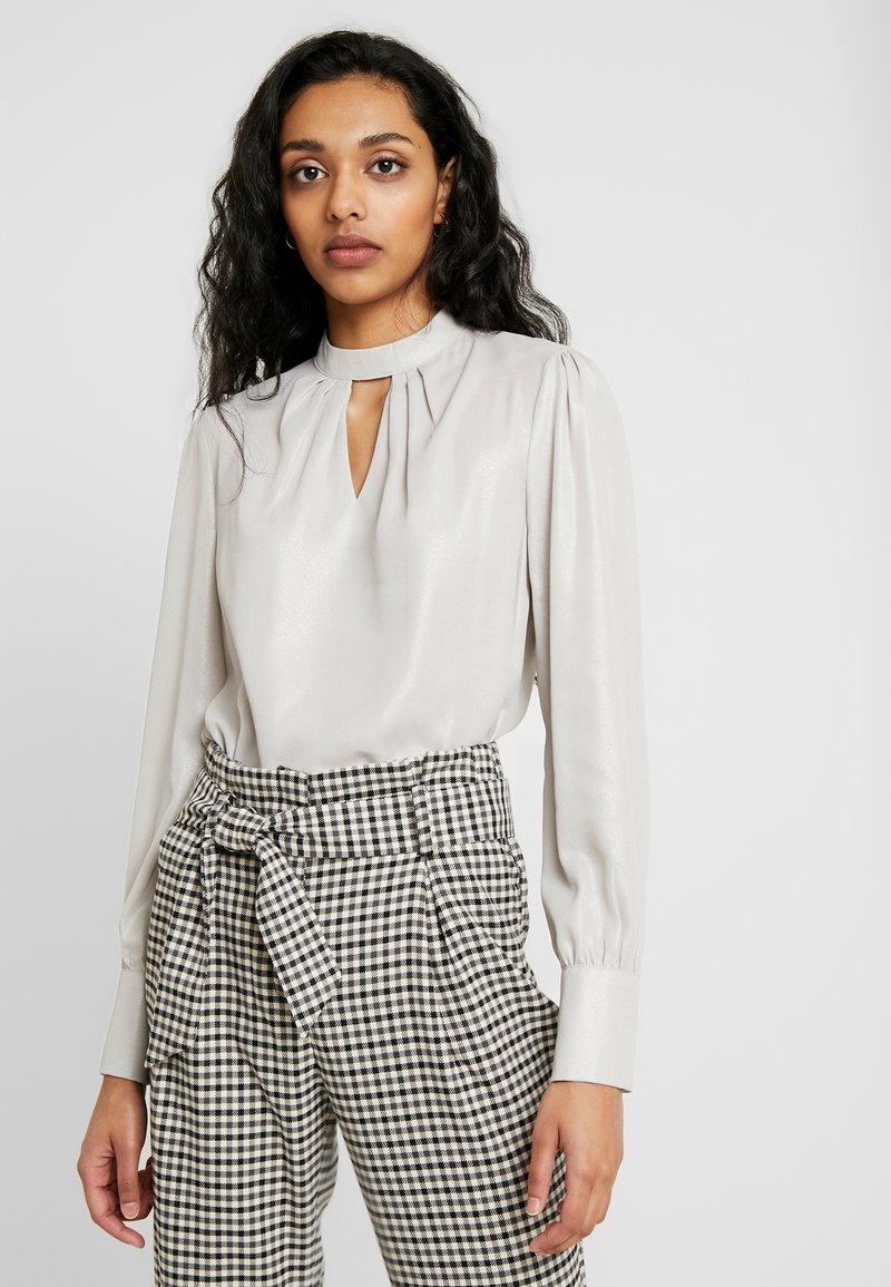 Dorothy Perkins Tall - HONEY - Blouse - silver
