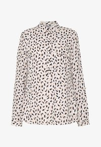 Dorothy Perkins Tall - ROLL SLEEVE TOP - Bluser - ivory - 4