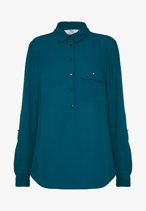 ROLL SLEEVE  - Blouse - blue