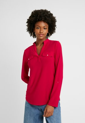 TALL ITY SHIRT - T-shirt à manches longues - red