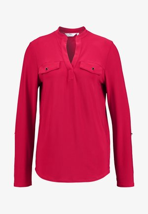 TALL ITY SHIRT - Maglietta a manica lunga - red