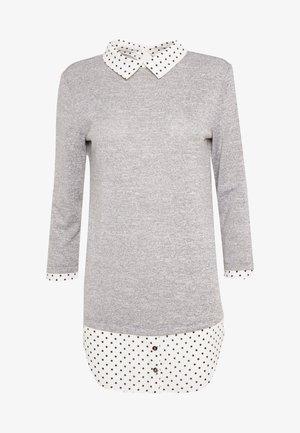 SPOT HEM 2 - Strikkegenser - light grey