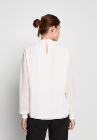 Dorothy Perkins Tall - SHIRRED NECK - Blouse - ivory - 2