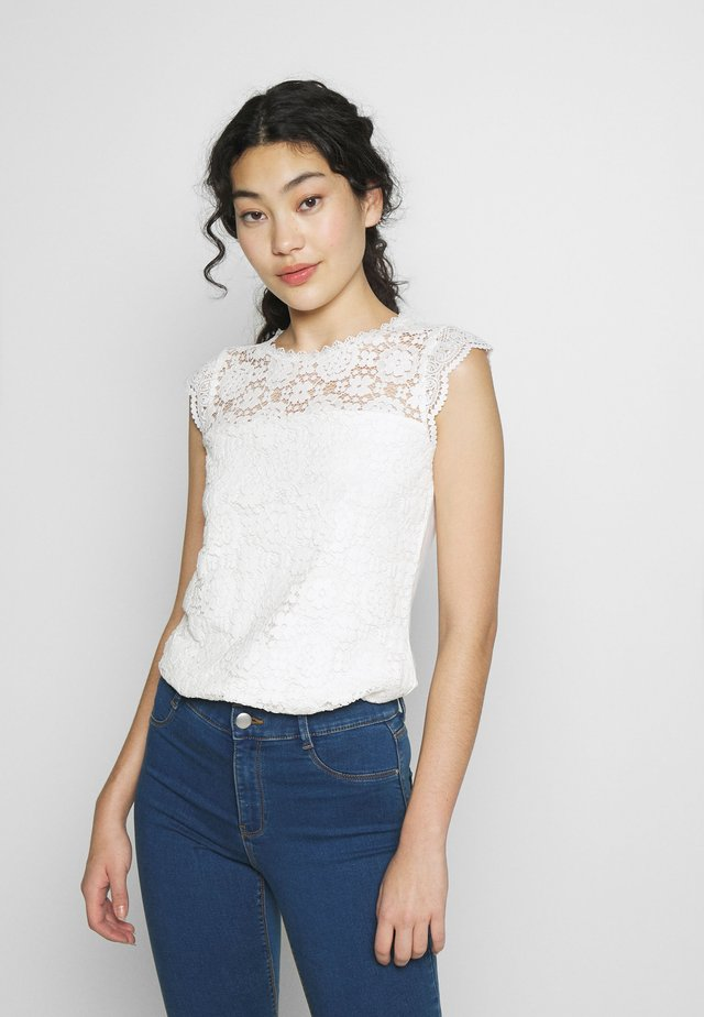 SHELL - Blouse - ivory