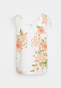 Dorothy Perkins Tall - TALL TIE SHOULDER PRINTED VEST - Blouse - ivory - 1