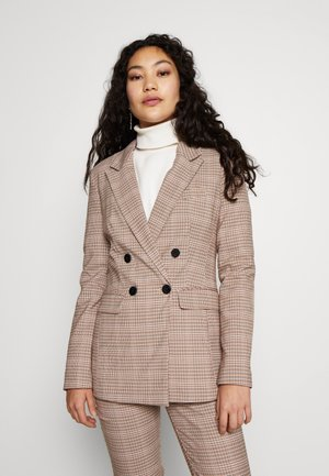 GRID CHECK JACKET - Blazer - multi