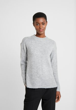STEP GAUGE JUMPER - Stickad tröja - light grey