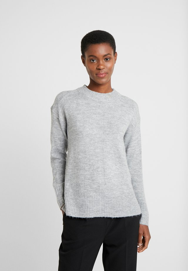 STEP GAUGE JUMPER - Jumper - light grey
