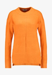Dorothy Perkins Tall - STEP HEM MID GAUGE JUMPER - Stickad tröja - orange - 4