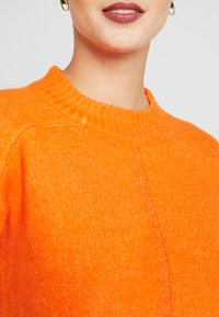 Dorothy Perkins Tall - STEP HEM MID GAUGE JUMPER - Stickad tröja - orange - 3