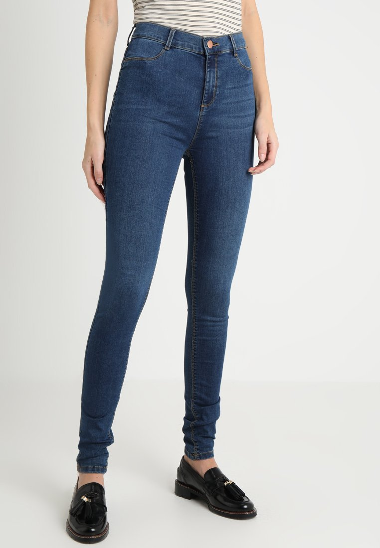 Dorothy Perkins Tall - FRANKIE - Jeans Skinny Fit - indigo authentic